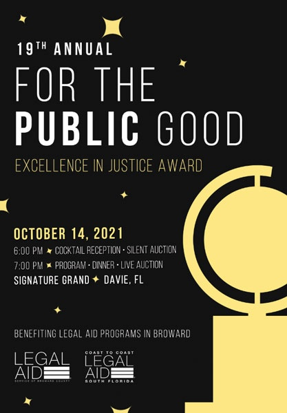 Legal Aid Service of Broward County and County (LAS) and Coast to Coast Legal Aid of South Florida