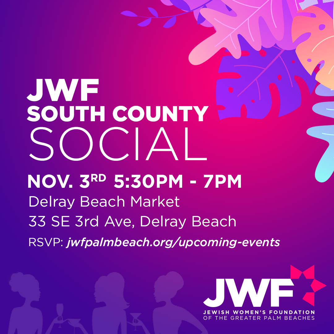 The Jewish Women's Foundation of the Greater Palm Beaches